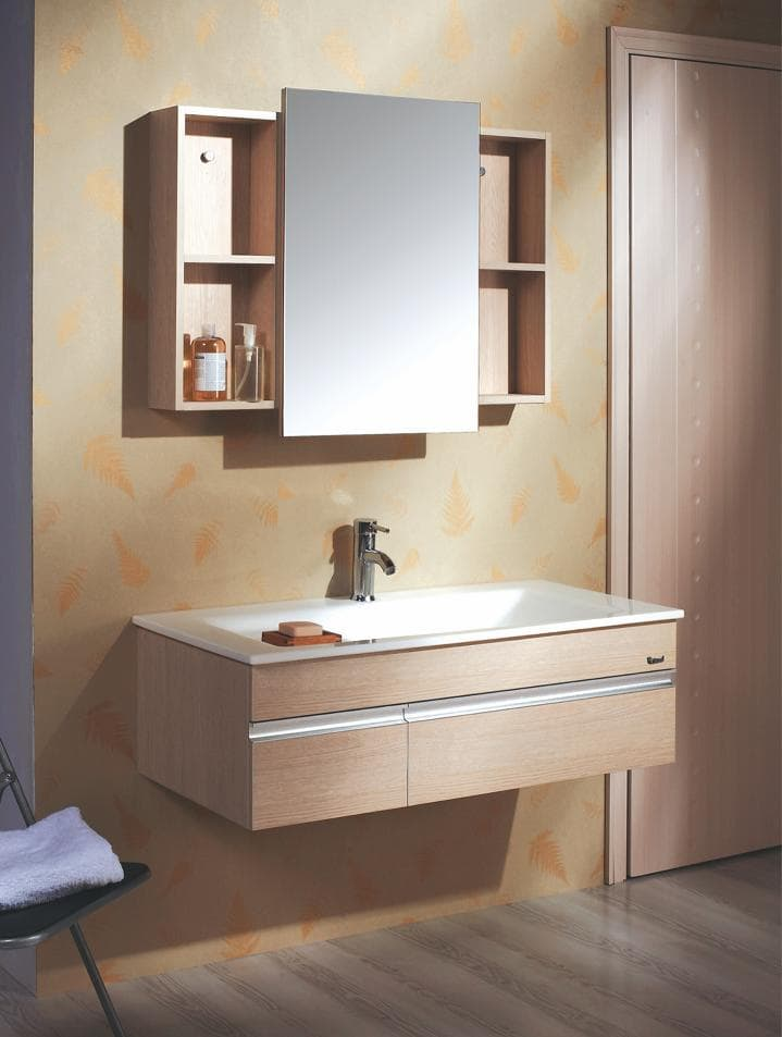Salle de bain meuble lysita meuble salle de bain for Mobilier salle de bain design contemporain