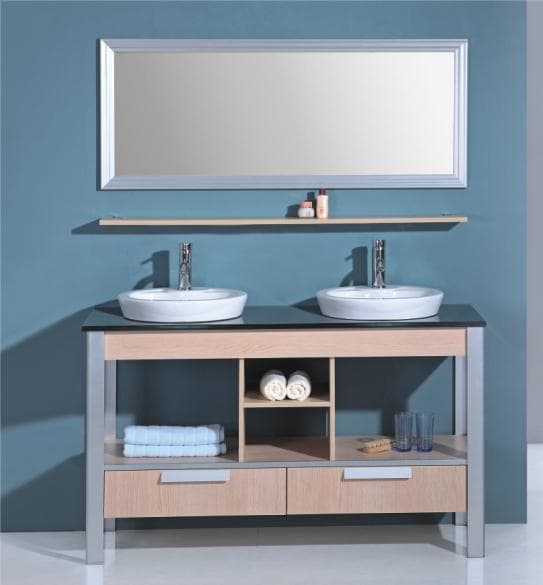 salle de bain meuble motta meuble salle de bain double vasque sur pieds 140x52x82. Black Bedroom Furniture Sets. Home Design Ideas