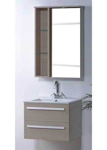 salle de bain meuble riviera1 meuble salle de bain simple vasque contemporain 60x48. Black Bedroom Furniture Sets. Home Design Ideas