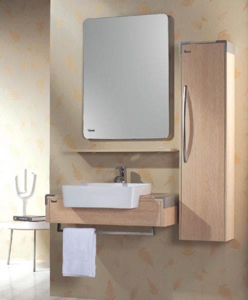 salle de bain meuble tinao meuble salle de bain suspendu avec colonne contemporain 80x48x30. Black Bedroom Furniture Sets. Home Design Ideas