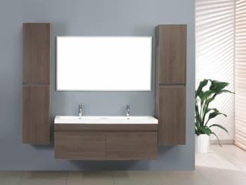 Meuble salle de bain presentation des produits pas - Cdiscount meuble salle de bain double vasque ...
