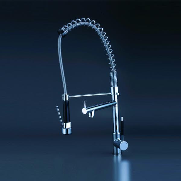 salle de bain mitigeurs bari mitigeur chrome pour meuble de salle de bain ou cuisine. Black Bedroom Furniture Sets. Home Design Ideas