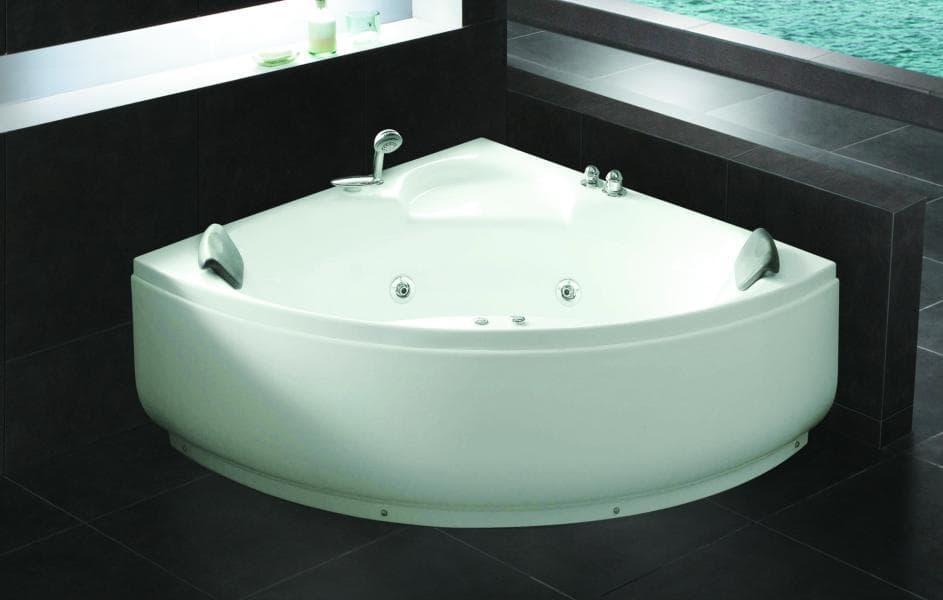 baignoire d 39 angle balneo. Black Bedroom Furniture Sets. Home Design Ideas