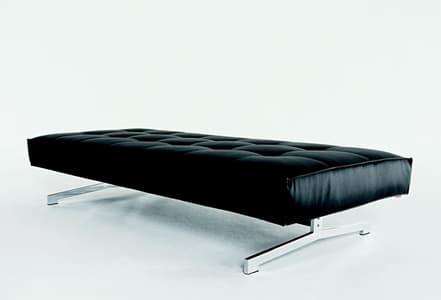 salon banc lenk banc cuir 200x90x41. Black Bedroom Furniture Sets. Home Design Ideas