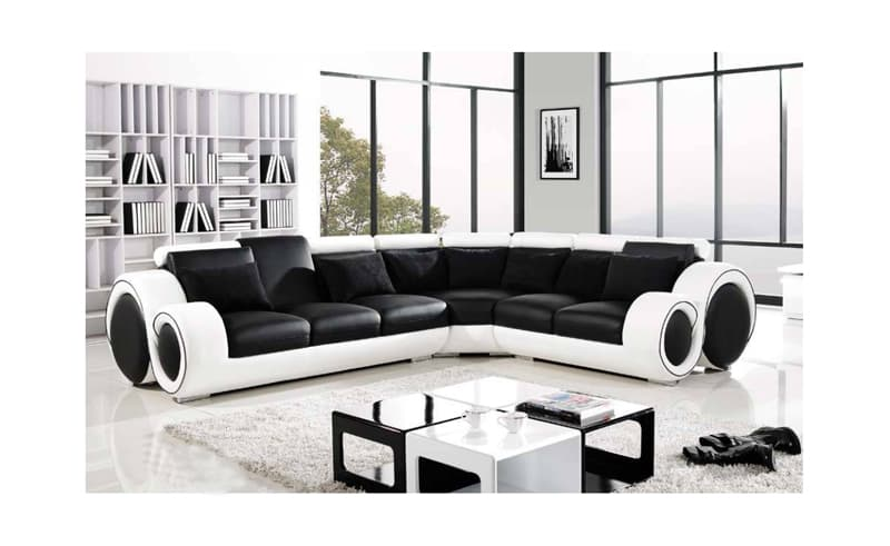 canape d angle cuir salon hawai 3 canape d 39 angle. Black Bedroom Furniture Sets. Home Design Ideas