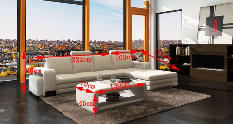 Canape d angle cuir salon new york 2 tab canape for A new angle salon