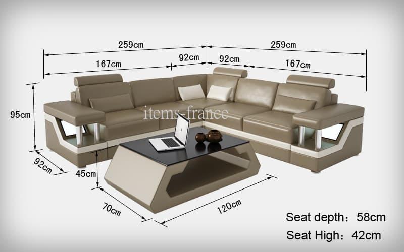 canape d angle cuir salon rimini 1 canape d 39 angle cuir 4 places 259x259. Black Bedroom Furniture Sets. Home Design Ideas