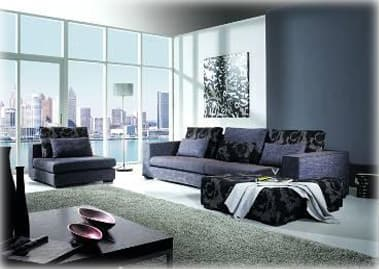 cerezo canape cuir meuble de salon contemporain. Black Bedroom Furniture Sets. Home Design Ideas