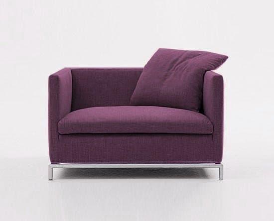 Canape droit tissus salon firm 36 fauteuil tissu - Fauteuil salon tissu ...