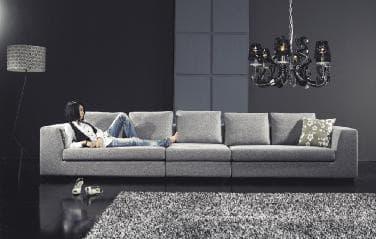 canape droit tissus salon mexicali canape tissu 5 places 430x85x68. Black Bedroom Furniture Sets. Home Design Ideas
