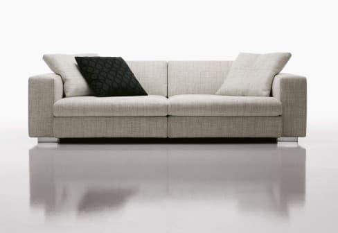 canape droit tissus salon tucson 2 canape 3 places 202x102x85. Black Bedroom Furniture Sets. Home Design Ideas