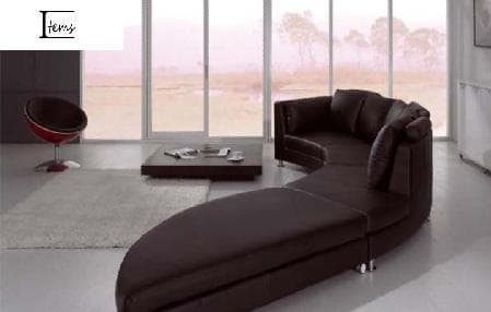 canape panoramique cuir salon daney canape cuir 8 places 450x87x88h. Black Bedroom Furniture Sets. Home Design Ideas