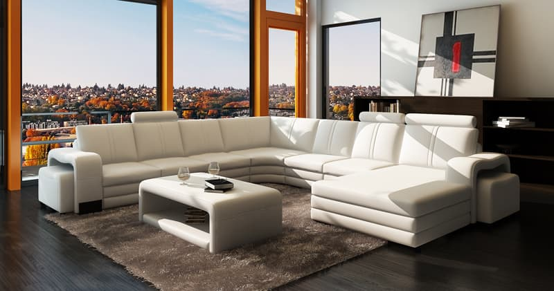 canape panoramique cuir salon new york xl canape. Black Bedroom Furniture Sets. Home Design Ideas