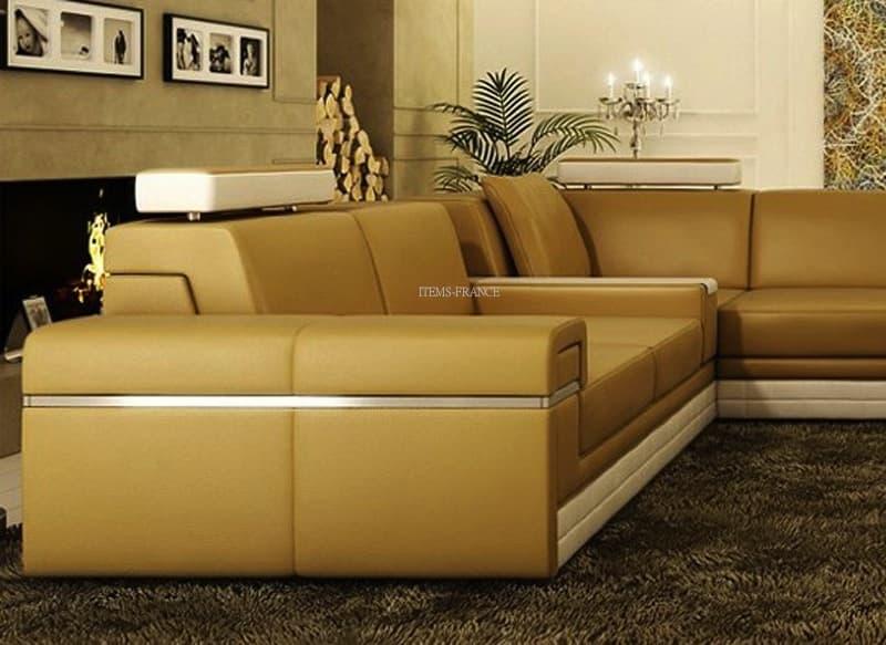 Canape panoramique cuir salon seattle canape d 39 angle for Salon seattle