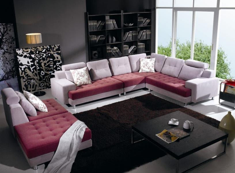 Canape panoramique tissu salon montana canape contemporain tissus 325x2 - Canape tissu contemporain ...