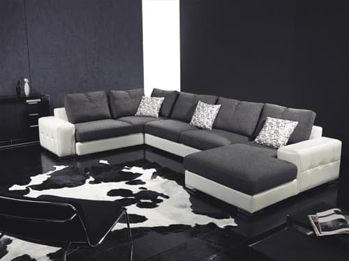 canape panoramique tissu salon starlight hous. Black Bedroom Furniture Sets. Home Design Ideas