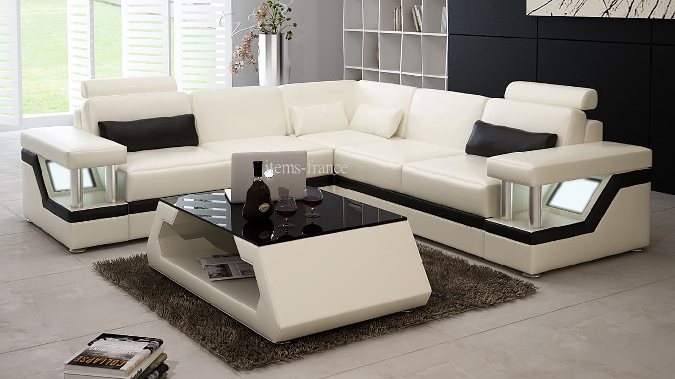 Exceptionnel Photo : 5 Seater Corner Sofa Images. Best Modern Living Room  TY16