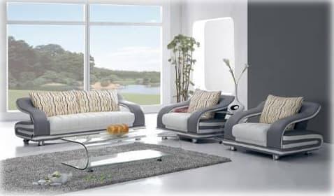 ensemble canape cuir salon bagheria perso canape contemporain 3 places avec 1 fauteuil. Black Bedroom Furniture Sets. Home Design Ideas