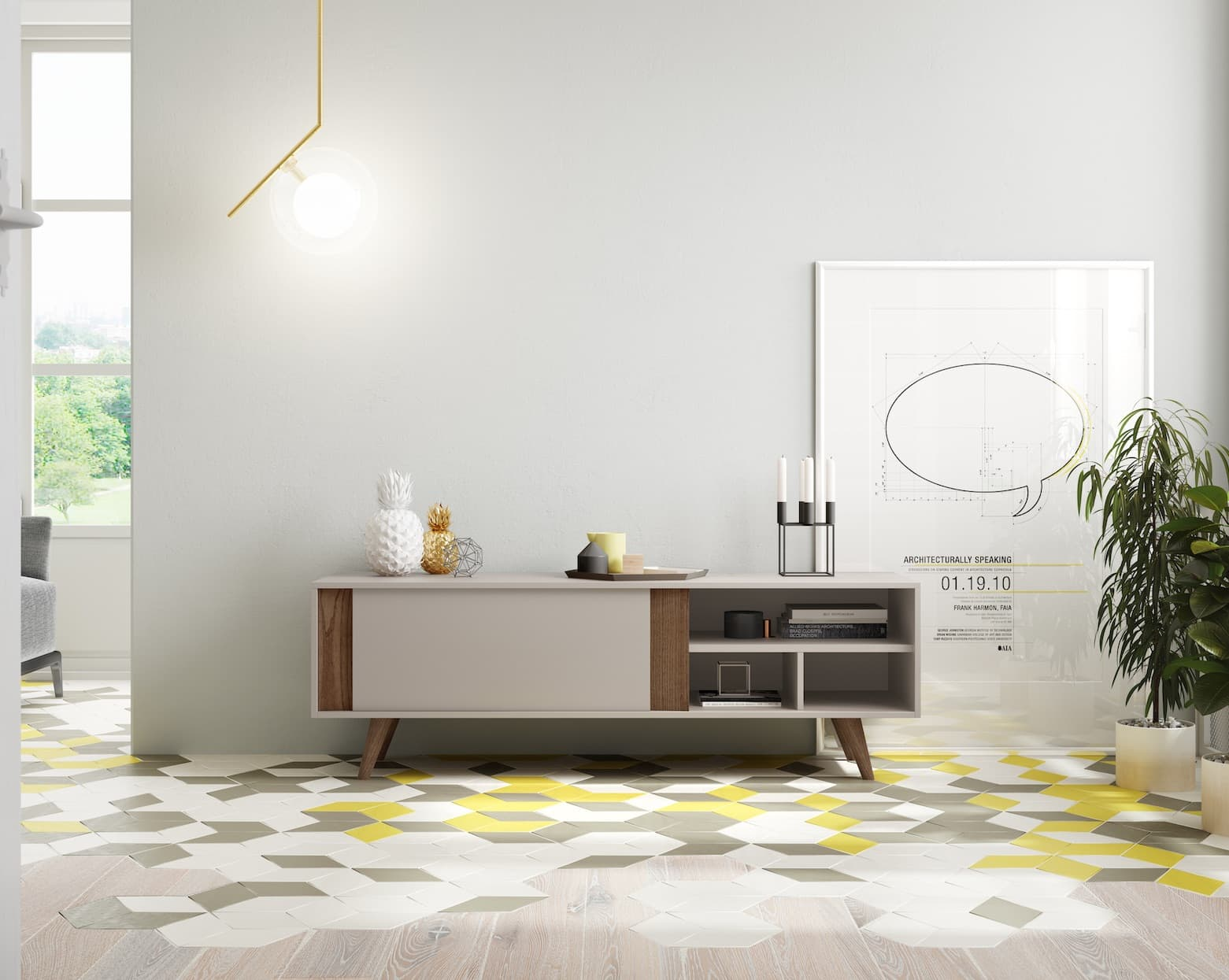 salon meuble tv luxor tv 3 meuble tv avec tag res et une porte horizontal abattant. Black Bedroom Furniture Sets. Home Design Ideas