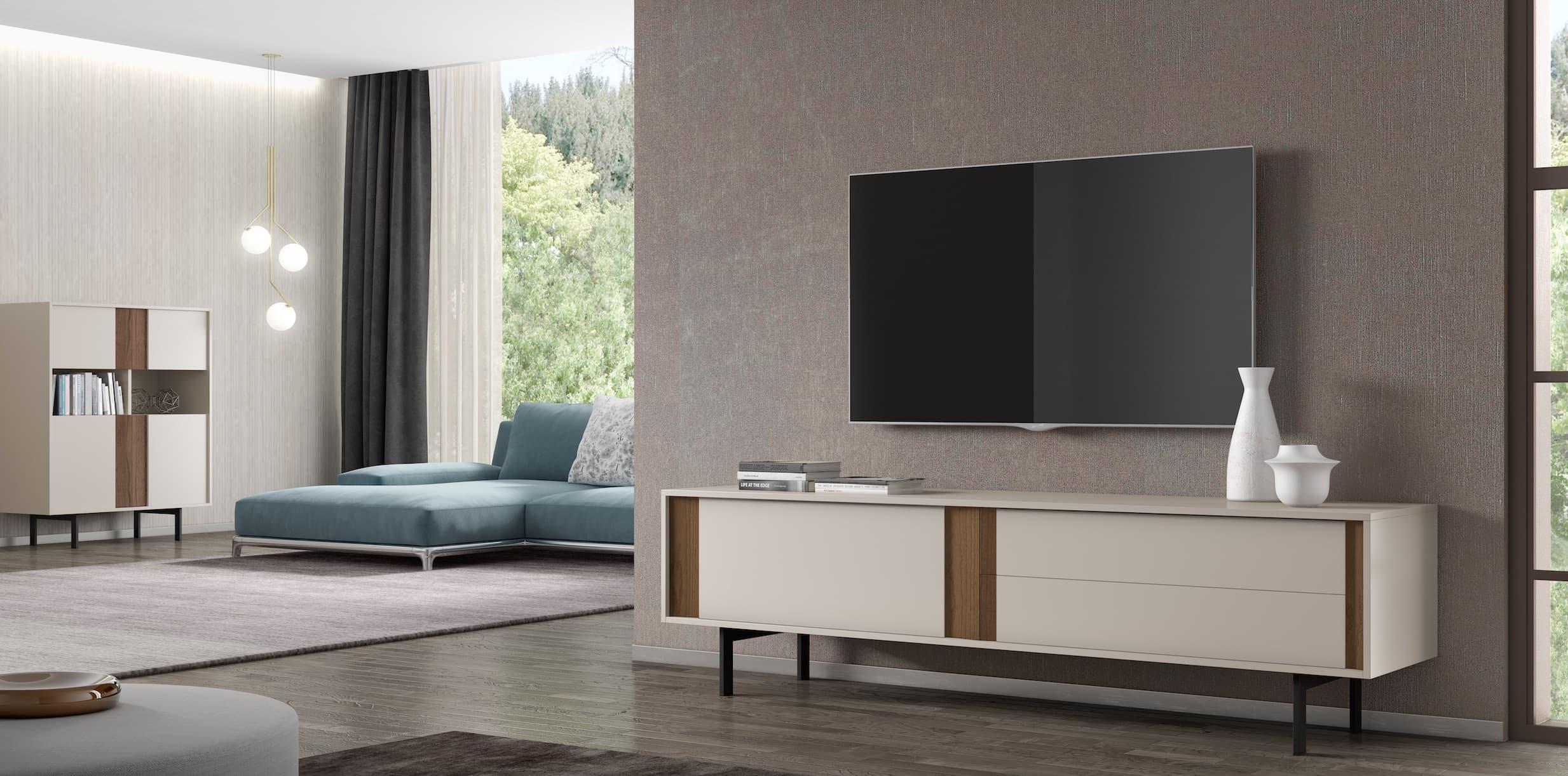 salon meuble tv luxor tv meuble de tv avec 2 tiroirs et une porte. Black Bedroom Furniture Sets. Home Design Ideas