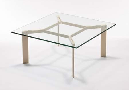 Salon table basse nex table basse metal verre 80x80x42 for Table basse 20 euros