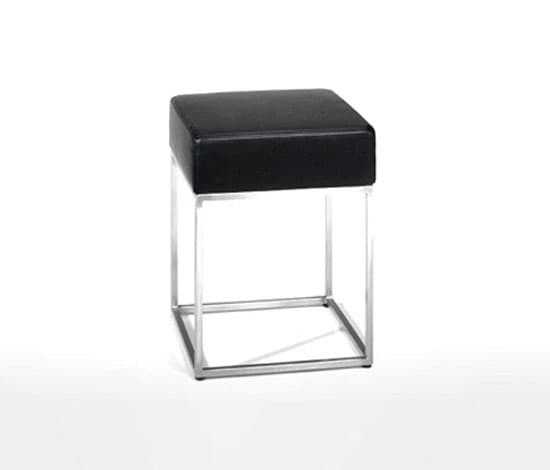 salon tabouret ds c tabouret cuir 36x36x43. Black Bedroom Furniture Sets. Home Design Ideas