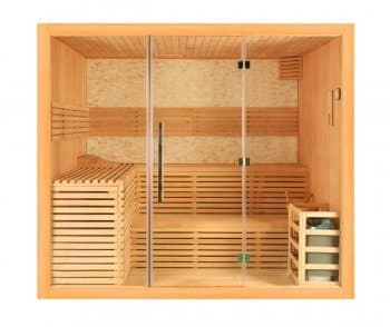 SAUNA TRADITIONNEL 150x100x210