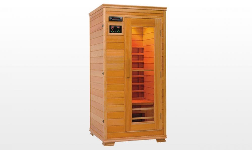 Sauna infrarouge ahtari sauna infrarouge 90x90x190 - Sauna infrarouge pas cher ...