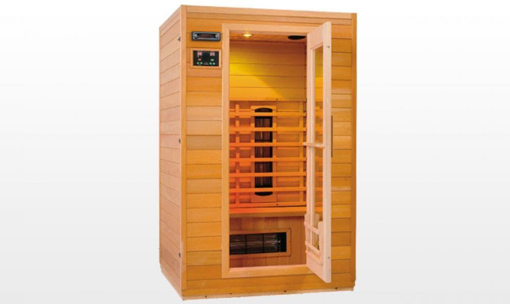 Sauna infrarouge akaa sauna infrarouge 90x90x189 - Sauna infrarouge pas cher ...