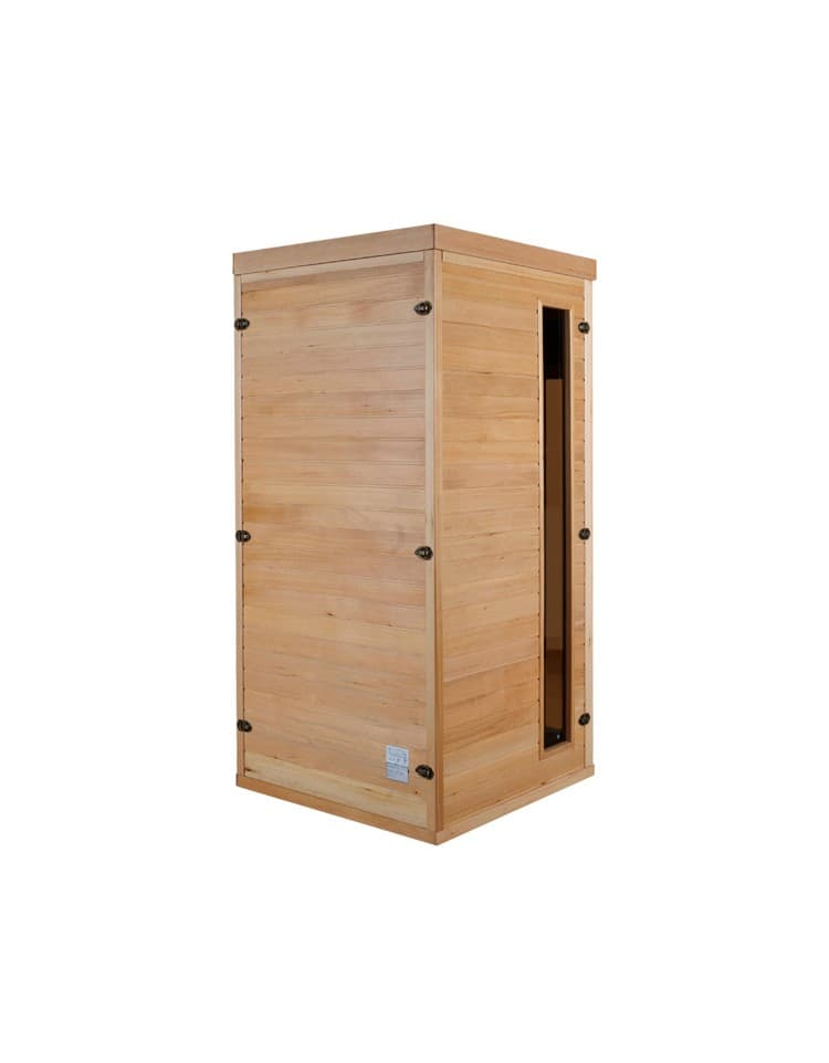 sauna infrarouge apollon 1 pl sauna infrarouge apollon 1 place 90x90x190cm. Black Bedroom Furniture Sets. Home Design Ideas