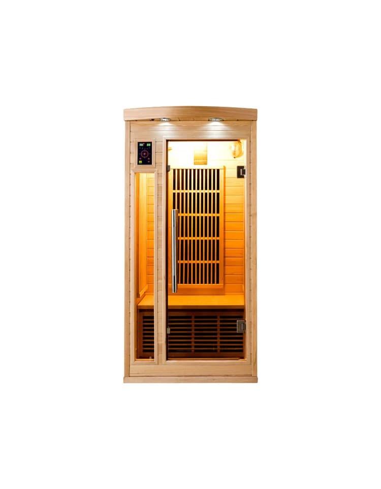 infrarouge sauna apollon 1 place sauna infrarouge apollon 1 place 90x90x190cm. Black Bedroom Furniture Sets. Home Design Ideas