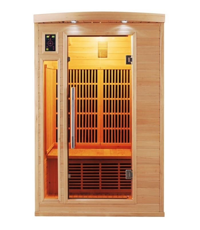 sauna infrarouge apollon 2 pl sauna infrarouge. Black Bedroom Furniture Sets. Home Design Ideas