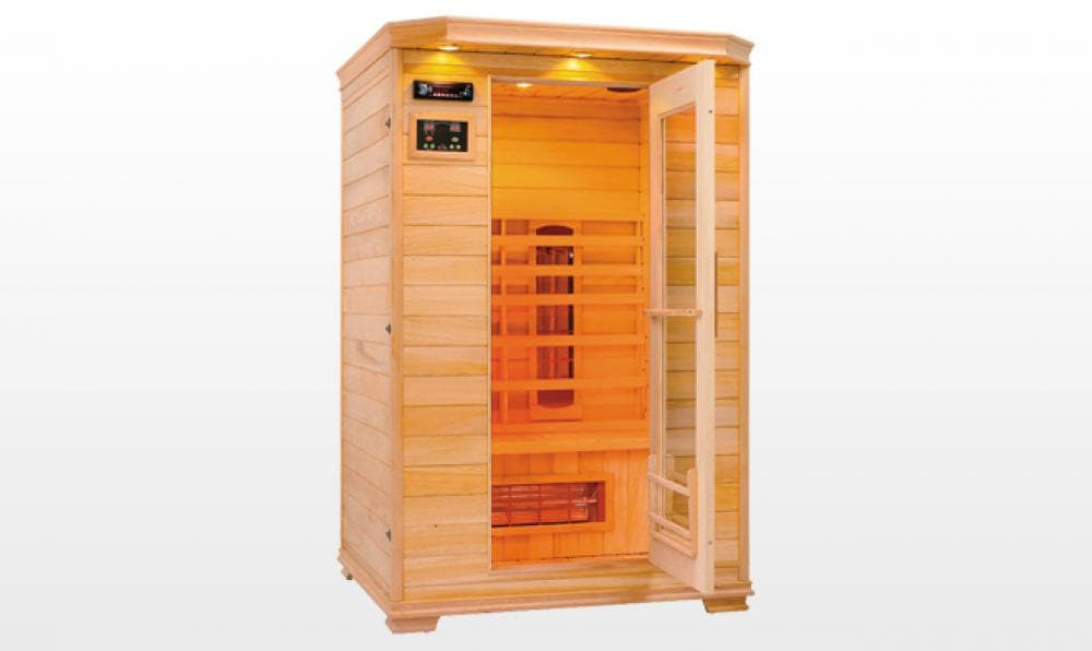 sauna infrarouge forssa sauna infrarouge 155x110x193. Black Bedroom Furniture Sets. Home Design Ideas