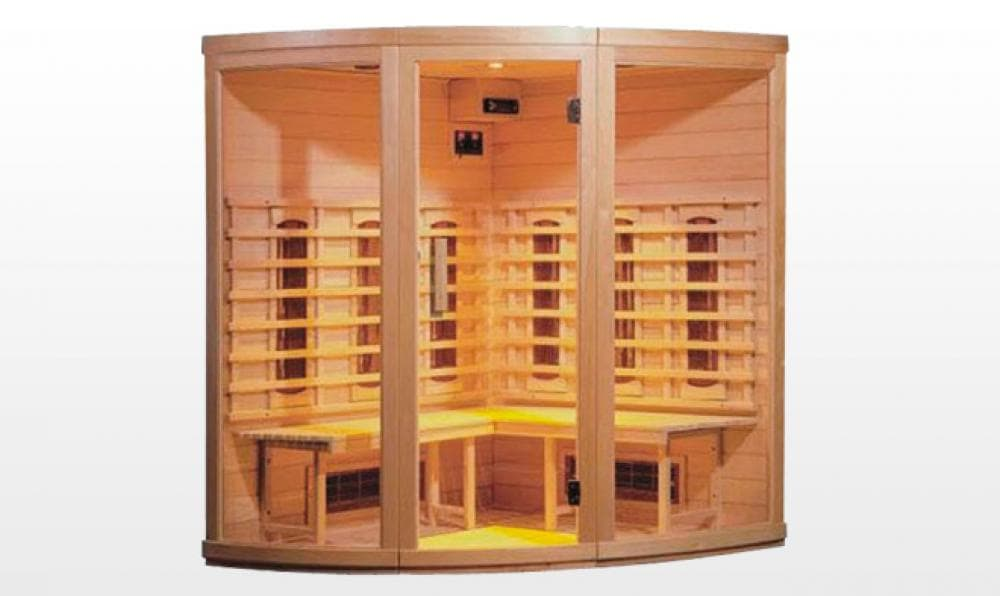 sauna infrarouge hanko sauna infrarouge 155x155x190. Black Bedroom Furniture Sets. Home Design Ideas