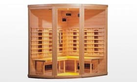 infrarouge sauna hanko sauna infrarouge 155x155x190. Black Bedroom Furniture Sets. Home Design Ideas