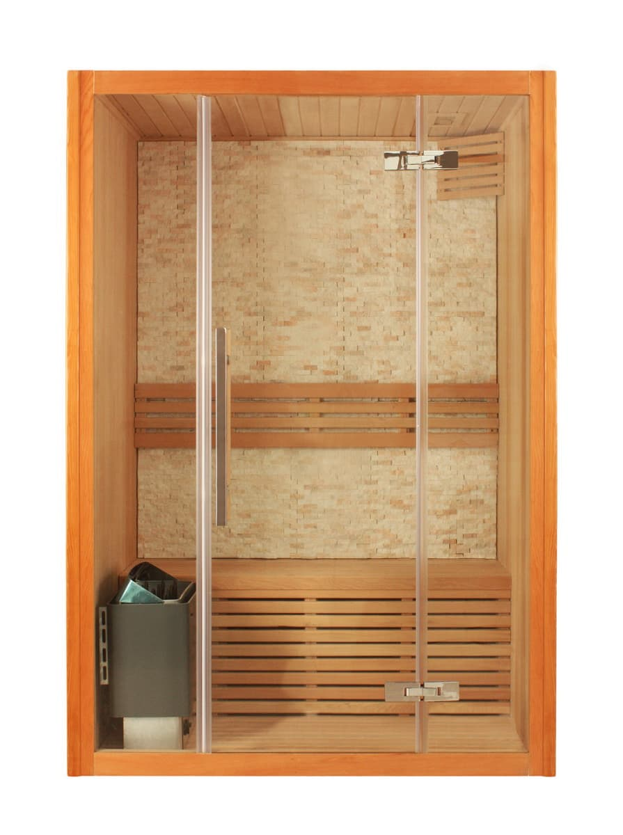 Sauna traditionnel if 153 sauna traditionnel 100x100x210 - Sauna traditionnel pas cher ...