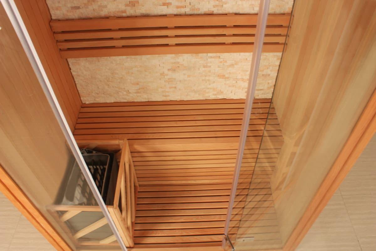 sauna traditionnel if 153 sauna traditionnel 100x100x210. Black Bedroom Furniture Sets. Home Design Ideas