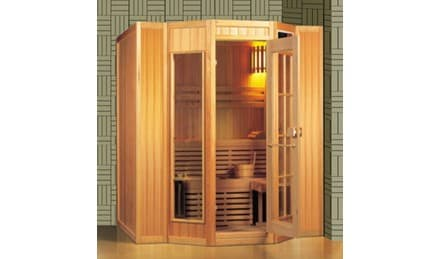 Sauna traditionnel karkkila sauna traditionnel 200x208x200 pour 4 5 per - Sauna traditionnel pas cher ...