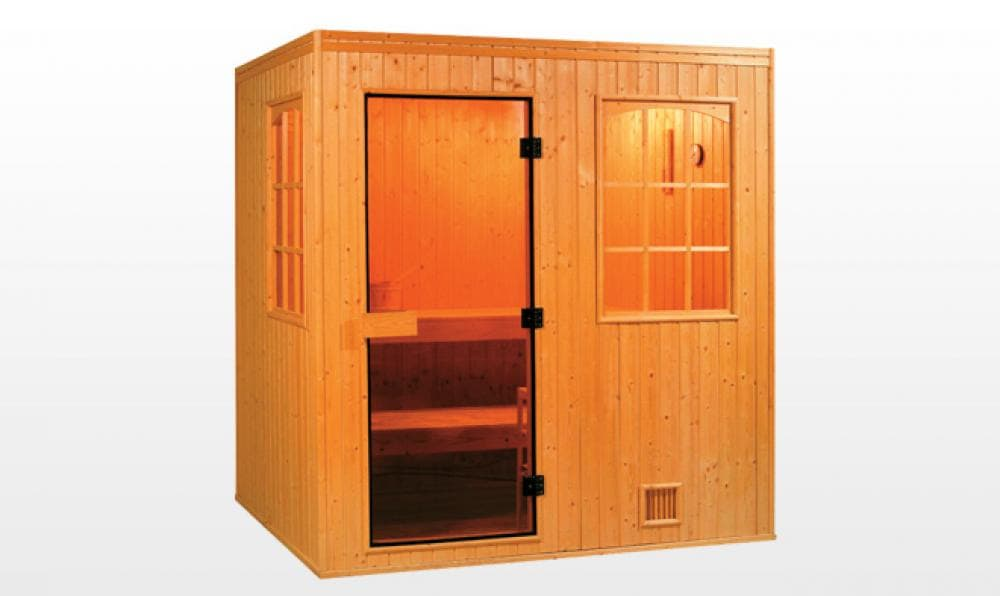 Sauna traditionnel nurmes sauna traditionnel 200x250x200 pour 5 6 perso - Sauna traditionnel pas cher ...