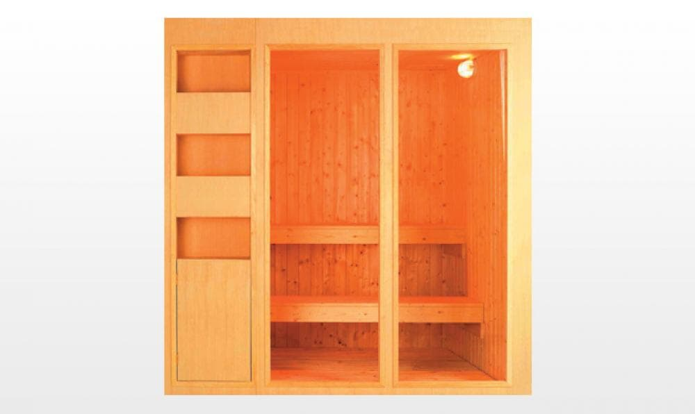 Sauna traditionnel somero sauna traditionnel 200x150x200 pour 3 4 perso - Sauna traditionnel pas cher ...