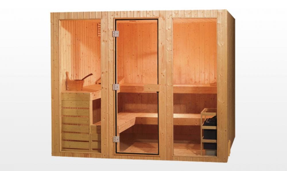 Sauna traditionnel tornio sauna traditionnel 300x300x200 pour 7 8 perso - Sauna traditionnel pas cher ...