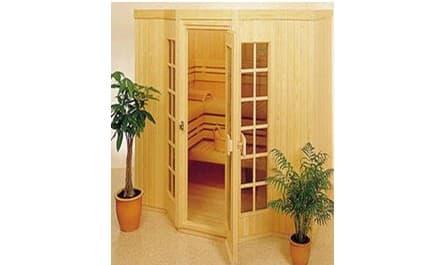 sauna traditionnel ylojarvi sauna traditionnel 208x200x200 pour 4 5 personnes. Black Bedroom Furniture Sets. Home Design Ideas