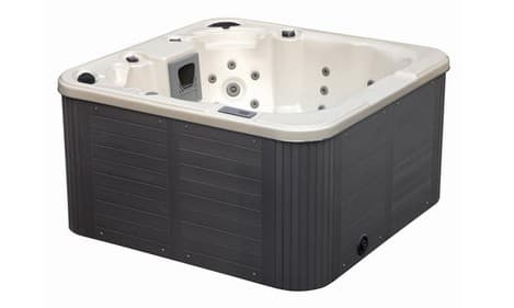 spa personnalisable psira spa blanc perle 160x160 pour 4 personnes balboa. Black Bedroom Furniture Sets. Home Design Ideas
