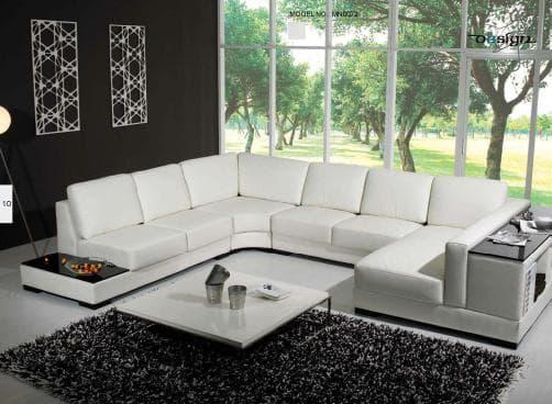 vente flash evenementiel brendy noir canap cuir 6 7 places 300x390x185 noir. Black Bedroom Furniture Sets. Home Design Ideas