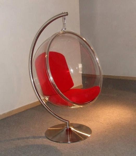 vente flash evenementiel bubble chair 1 fauteuil suspendu acrylique potence 113x113x65. Black Bedroom Furniture Sets. Home Design Ideas