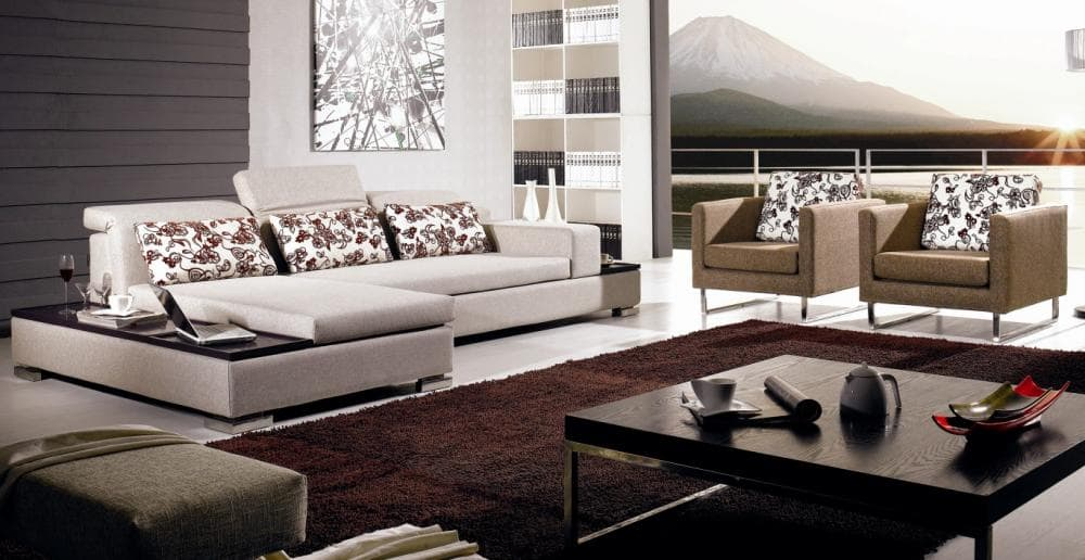 vente flash evenementiel mika canap contemporain tissu 328x167. Black Bedroom Furniture Sets. Home Design Ideas