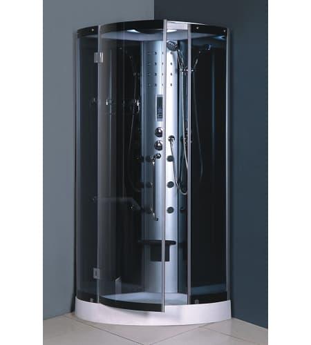 vente flash evenementiel tiloua cabine de douche hydromassante 90x90x213. Black Bedroom Furniture Sets. Home Design Ideas